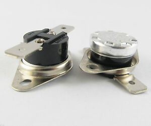 50x Ksd301 Normal Close N c 10a 250v Thermostat Bimetal Disc Temperature Switch