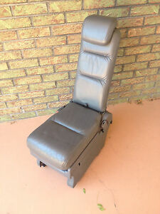 2005 2010 Honda Odyssey Middle Row Jump Seat Plus One Used Gray Leather