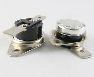 50x Ksd301 Normal Open N o 10a 250v Thermostat Bimetal Disc Temperature Switch