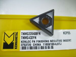 Factory Pack Kennametal Tnmg432fn Kcp25 Tnmg220408fn Carbide Inserts Tools
