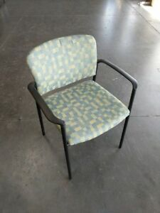 Kimball Event Guest Chair Stack Chair Mint Green