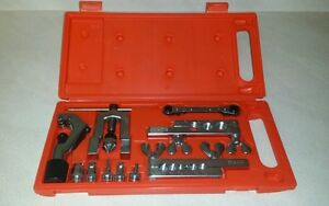 New Flaring Swaging Tool Kit For Soft Copper Tube Cutter Ratchet Wrench
