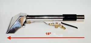 Carpet Cleaning Straight Stair Tool Upholstery Wand With 8 Head 2 jet 16 Long