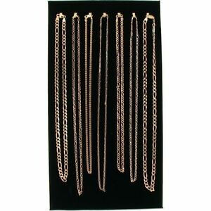 7 Hook Black Velvet Necklace Jewel Display Chain 14 1 8 Business Supplies Store