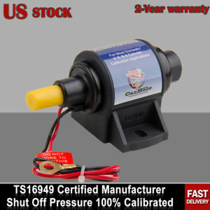 New 12v Electric Fuel Transfer Pump W Carburetor Cylinder 4 7 Psi Gas Pump 35gph