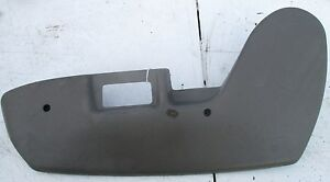 1994 Jeep Grand Cherokee Grey Passenger Side Seat Switches Cover Plate Rh 89256