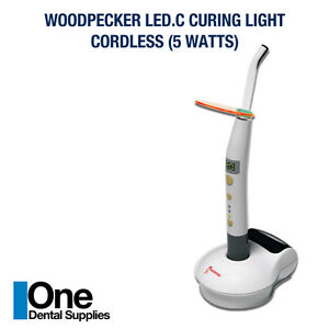 2 X Dental Curing Light Cordless Led c 5 Watts