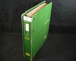 Jd John Deere Farm Loaders Dozers Parts Manuals Catalogs 1960s 1970s In Binder