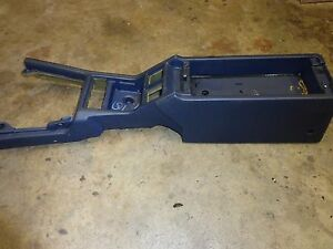 Toyota Supra Mk3 1990 92 Center Console Blue Shallow Pocket Oem