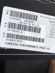 Carrier Edge Performance Series Programmable Thermostat