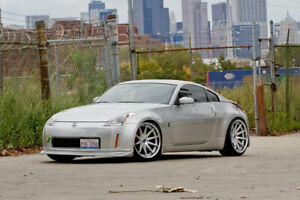 19 Rohana Rc10 Machined Silver Concave Wheels For G35 Coupe 350z 370z Genesis