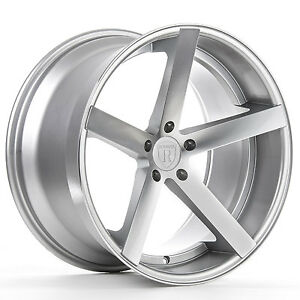 19 Rohana Rc22 Machine Silver Concave Wheels For G35 Coupe 350z 370z