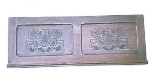 Vintage Header Pediment Mantel Mantle Fireplace Entryway Interior Design
