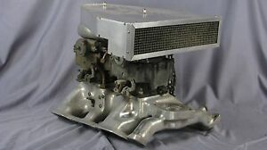 Vintage Edmunds Intake For 1952 54 317 Cu In Lincoln W 2 4bbl Rare Strombergs