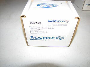 New Silicycle Ultra Pure Silica Gel Si scx 2 pk100 cat spe r51230b 01b