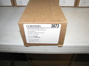New Corning 384 well Low Volume Microtest Plates Nonsterile pk25 cat 3673