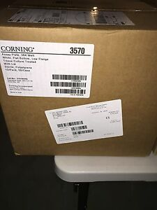 New Corning 384 well Assay Plates Low Flange White Sterile cs50 cat 3570