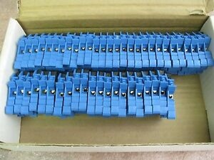 Cabur Spo 4blue Terminal Block Disconnect lot Of 49 103257