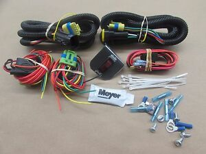 New Genuine Meyer Snow Plow Head Light Wiring Kit For The Change Over Modules