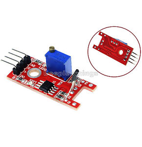1pcs Hall Magnetic Standard Linear Module For Arduino Avr Pic