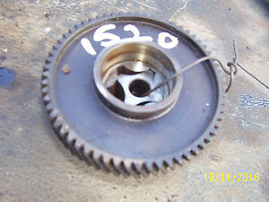 Vintage Ford 1520 Diesel Tractor engine Front Gear Assembly