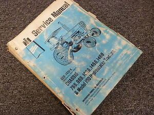 International Harvester 1468 Hydro 100 Tractor Chassis Service Repair Manual