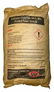 Calcium Chloride Prilled cas_10043 52 4 Feed Grade 94 White 50 Lb Bag