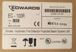 Fire Alarm Edwards Ec 100r Smoke Automatic Fire Detector Projected Beam System