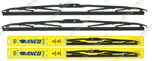Anco 31 Series Wiper Blade 22 20 Set Of 2 Front 31 22 31 20
