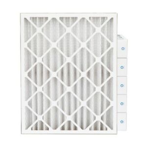 16x20x4 Merv 8 Pleated Ac Furnace Air Filters 6 Pack