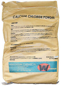 Calcium Chloride Anhydrous Powder cas_10043 52 4 94 White 50 Lb Bag