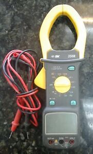Bk Precision 350b Ac Current Clamp Meter With Bargraph 1000a