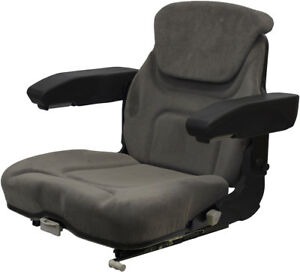 Amss6558 Seat Assembly For Case Ih 7110 7120 7130 7140 7150 Tractors
