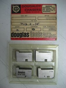 Douglas Tools 9 16ds Dougaloy Chasers To Cut M12 X 75 Hook 10 Chamfer 40