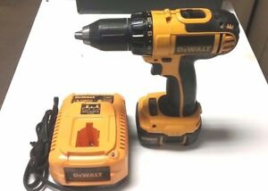 Used Dewalt 18v Cordless Drill dcd760 W Lithium Ion Batter Charger Usa