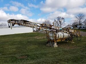 Ag Chem 500 Gallon Slide in Truck Sprayer 55ft Booms