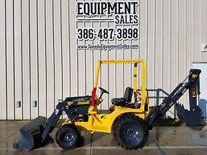 Terramite T5c Mini Tractor Loader Backhoe 2wd