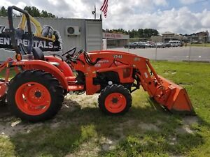 Kubota Farm Tractor With Loader