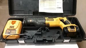 Used Dewalt 18v Dc385 Reciprocating Saw W Lithium Xrp Battery