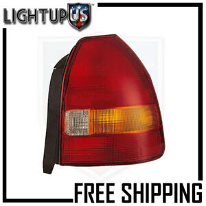 Fits 96 98 Honda Civic Hatchback Tail Light Lamp Passenger Right Only