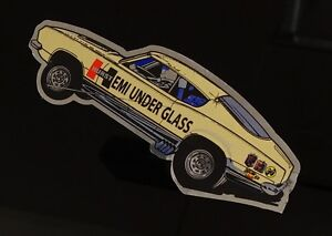 Hemi Under Glass Wheelstander Decal Sticker Hurst Mopar Nhra Ihra Drag Racing