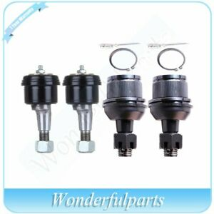 Suspension Front 4 Upper Lower Ball Joint Kit For 2003 2006 Dodge Ram 3500 4wd