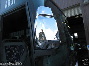 Chrome Mirror Covers For 97 13 Van Hool T2100 Buses Coaches T Series