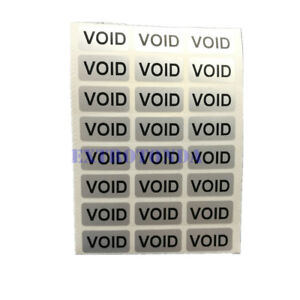 Void Sticker Warranty void If Seal Broken Or Removed Sealing Label If Tampered