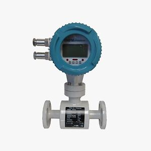 New Prm Xp Electromagnetic Flow Meter With Lcd Display 1 150 Flange 230 Psi