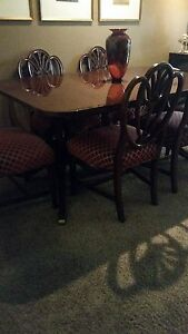 Antique Duncan Phyfe Style Dining Room Set Must See Excellent Condition