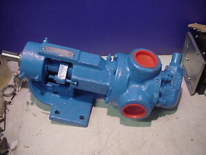 Idex Viking H125 H125r Rotary Pump W relief Valve Packed Seal