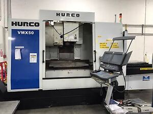 Hurco Mdl Vmx50 40t 2007 Cnc Vertical Machining Center