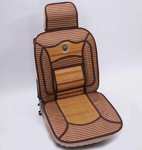 Universa Auto Car Seat Cover Cushion Cool And Refreshing For Summer Bamboo