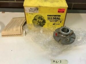 New Chesterton Seal 123 Size 15 1 625 Shaft Tc sc ss 654677 Warranty Fast Ship